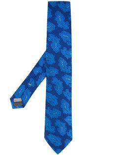 галстук с принтом пейсли Canali