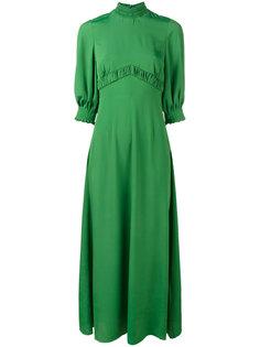 длинное платье Natasia Emilia Wickstead