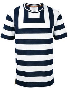 футболка в полоску  Paul Smith