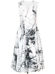 pleated wrap dress Forme Dexpression