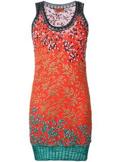 платье мини с узором  Missoni