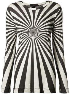 футболка с длинными рукавами с принтом Gareth Pugh