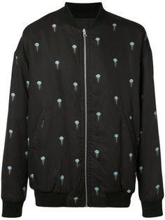 jellyfish print bomber jacket John Elliott