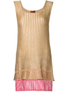 трикотажное платье мини  Missoni