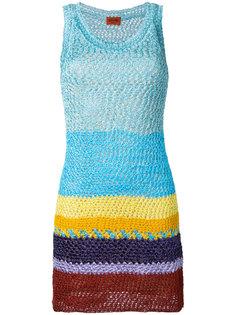 платье мини в полоску  Missoni