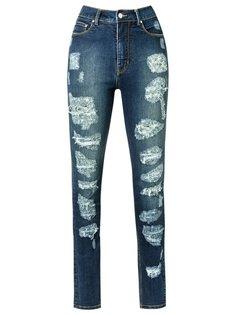 distressed skinny jeans Amapô