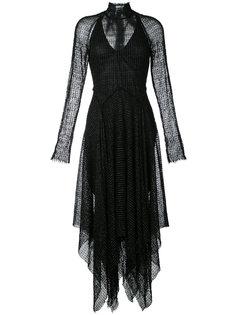 платье с завязкой  Kitx