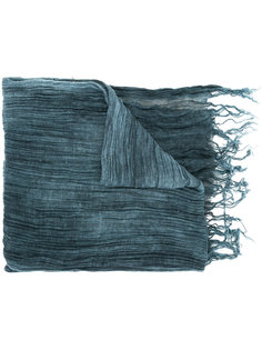 pleated scarf Greg Lauren