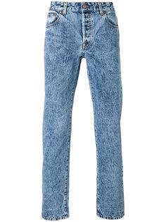 джинсы с вареным эффектом Umit Benan