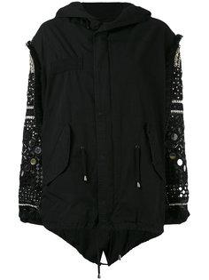 куртка с декорированными рукавами Amen Amen.