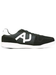 кроссовки с сетчатыми вставками Armani Jeans