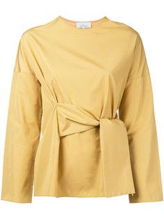 блузка с запахом Studio Nicholson