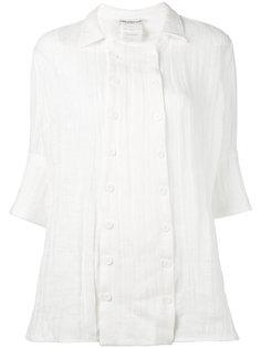 двубортная рубашка на пуговицах  Cherevichkiotvichki