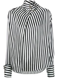 buckled high neck blouse Marquesalmeida