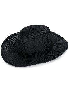 шляпа с лентой вокруг тульи Maison Michel
