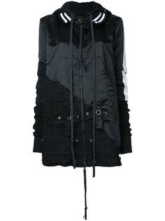 куртка с контрастными панелями Greg Lauren