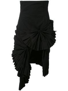 ruffled asymmetric skirt Jacquemus