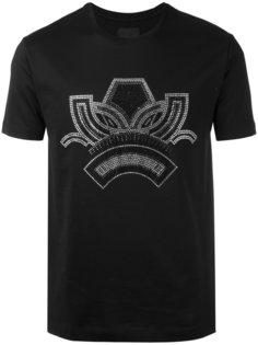 футболка с серебристой отделкой Les Hommes