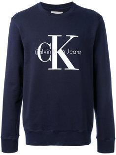 джемпер с принтом логотипа Calvin Klein Jeans