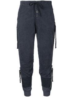спортивные брюки с эластичным поясом Greg Lauren