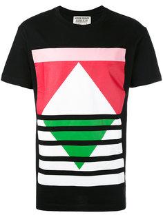 футболка с геометрическим узором Henrik Vibskov