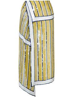 sequin chiffon skirt  Monse