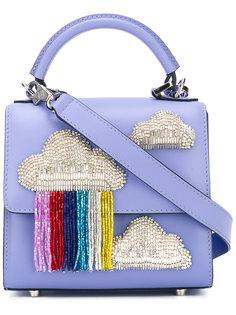 сумка-тоут с аппликацией в виде облаков Les Petits Joueurs