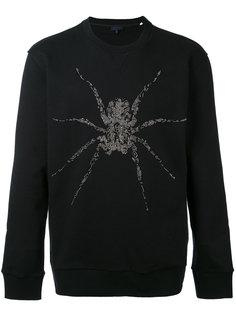 толстовка с вышивкой паука Lanvin
