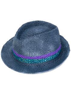 шляпа со вставкой в полоску  Le Chapeau