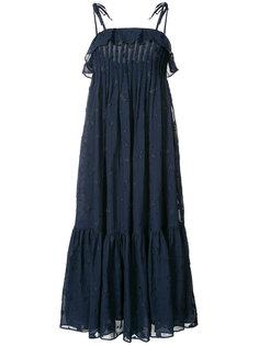 shift pleated dress Co