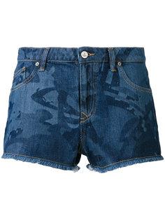 джинсовые шорты с абстрактным узором Vivienne Westwood Red Label