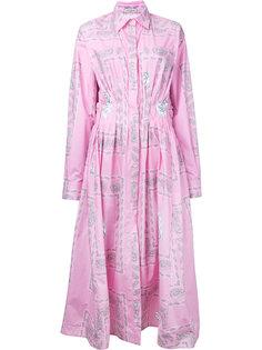 paisley print shirt dress Natasha Zinko