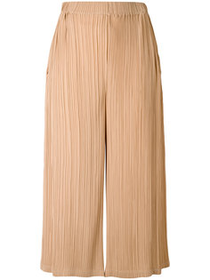 pleated cropped trousers Jil Sander
