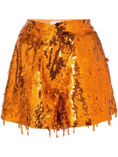шорты с пайетками Monse