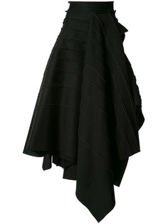 layered maxi skirt Maticevski