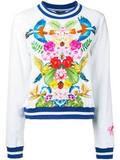 tropical print sweatshirt Manish Arora