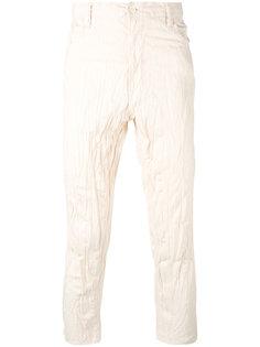 брюки с мятым эффектом Ganryu Comme Des Garcons
