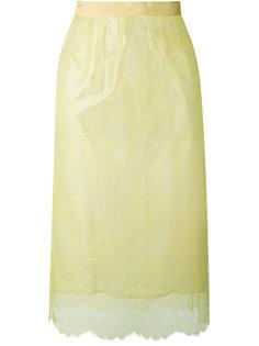 юбка с кружевной отделкой Maison Margiela