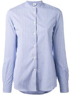полосатая рубашка с воротником-стойкой Aspesi