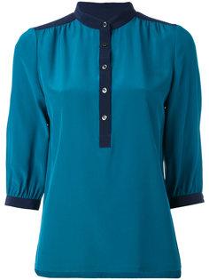 рубашка с воротником-стойкой  Vanessa Seward