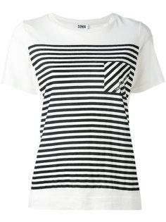 футболка в полоску  Sonia By Sonia Rykiel