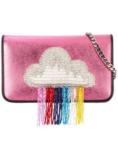 сумка на плечо с заплаткой в виде облака Les Petits Joueurs