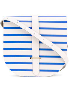 полосатая полукруглая сумка The Cambridge Satchel Company