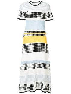 striped midi dress Novis