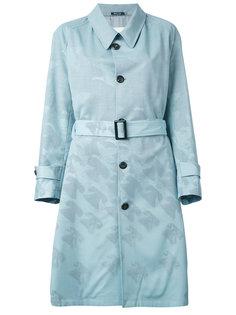 пальто с принтом птиц Maison Margiela