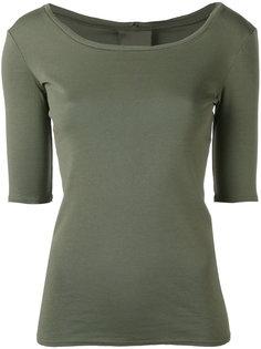 футболка с вырезом-ковш Kristensen Du Nord