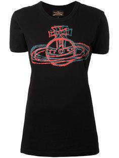 футболка с принтом-логотипом Vivienne Westwood Red Label