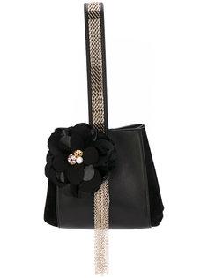 сумка на плечо с цветком Lanvin