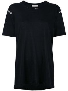 декорированная футболка  Alix