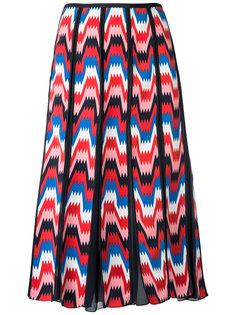all-over print skirt Reinaldo Lourenço